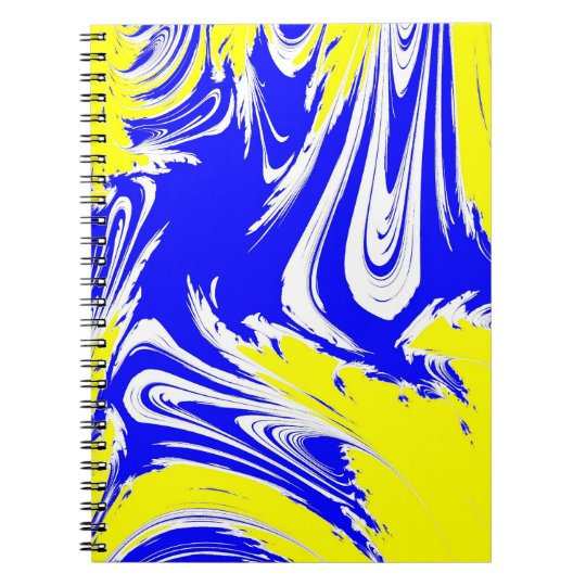 Mixed Paint Notebook