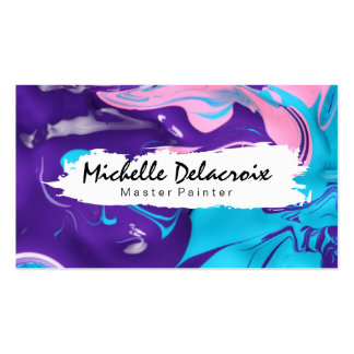 Mixed Paint | Vibrant Business Card
