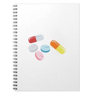 Mixed Pills Note Books