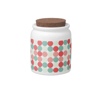 Mixed Spots Candy Jars