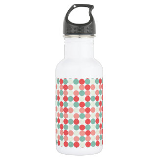 Mixed Spots Stainless Steel Water Bottle