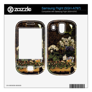 Mixed Spring Flowers by Pierre Renoir Skins For Samsung Flight