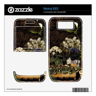 Mixed Spring Flowers by Pierre Renoir Skins For The Nokia E63