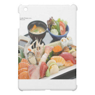 Mixed Sushi Plate & Japanese Soup Art Gifts &  iPad Mini Cover