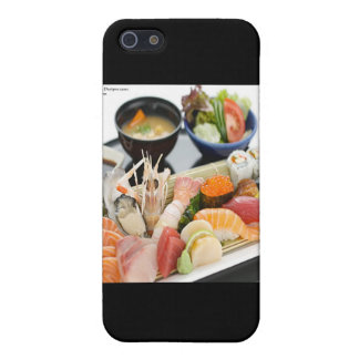 Mixed Sushi Plate & Japanese Soup Art Gifts & Tees Case For iPhone SE/5/5s