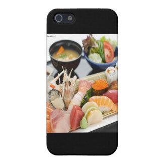 Mixed Sushi Plate & Japanese Soup Art Gifts & Tees Cover For iPhone SE/5/5s