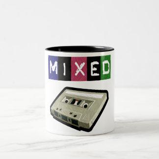 Mixed Tape-Mug Two-Tone Coffee Mug