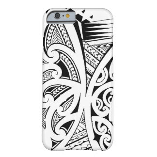 Mixed tattoo styles, Maori, Samoan and Polynesian Barely There iPhone 6 Case