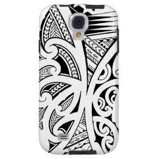Mixed tattoo styles, Maori, Samoan and Polynesian Galaxy S4 Case