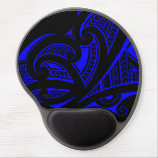 Mixed tattoo styles, Maori, Samoan and Polynesian Gel Mouse Pad