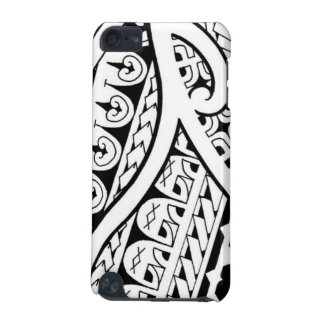 Mixed tribal tattoo design Polynesian and Maori iPod Touch 5G Case