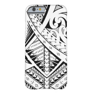 Mixed tribal tattoo patterns in Samoan Maori style Barely There iPhone 6 Case
