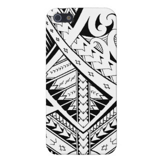 Mixed tribal tattoo patterns in Samoan Maori style Cover For iPhone SE/5/5s