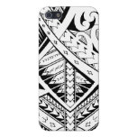Mixed tribal tattoo patterns in Samoan Maori style Covers For iPhone 5