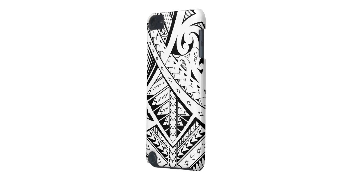 Mixed tribal tattoo patterns in samoan maori style ipod for Generation 8 tattoo
