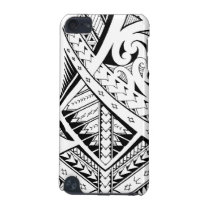 Mixed tribal tattoo patterns in Samoan Maori style iPod Touch (5th Generation) Case