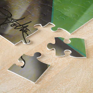 Mixed Up Colorful Abstract Jigsaw Puzzle