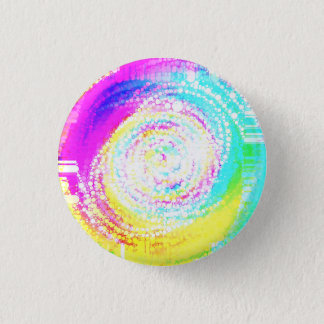 Mixed Up Mosaic Pinback Button