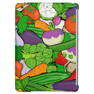 Mixed vegetables iPad air cover