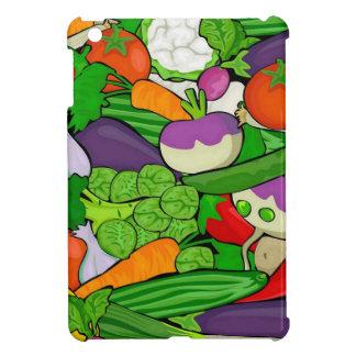 Mixed vegetables iPad mini cover