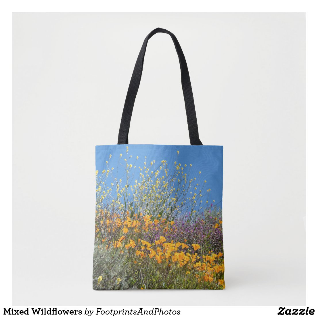 Mixed Wildflowers Tote