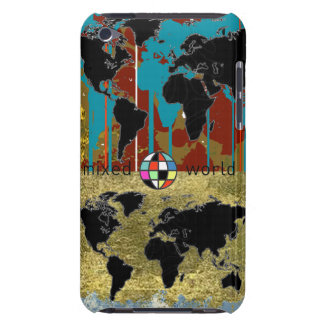 mixed world maps barely there iPod cover