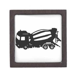 mixer truck camion toupie gift box