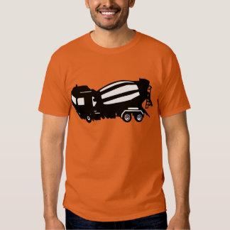 mixer truck camion toupie shirt