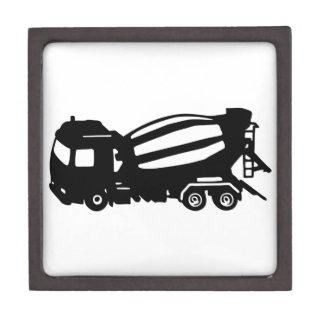 mixer truck keepsake box