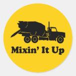 Mixin' It Up Sticker