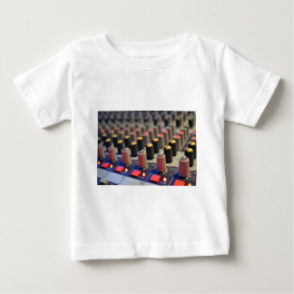 Mixing Board Buttons Baby T-Shirt