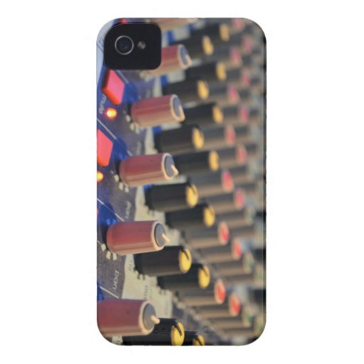 Mixing Board Buttons Case-Mate iPhone 4 Case