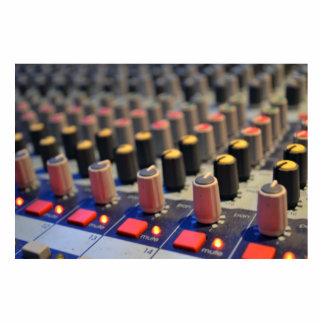 Mixing Board Buttons Cutout