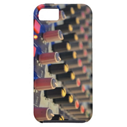 Mixing Board Buttons iPhone 5 Covers