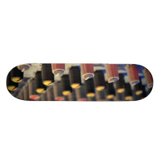 Mixing Board Buttons Skateboards