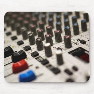 Mixing Board Closeup Mouse Pad