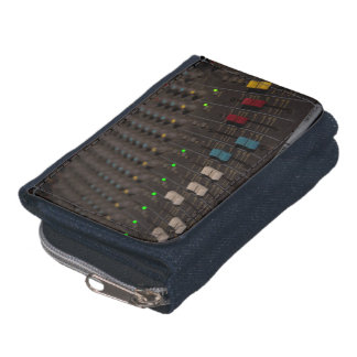 Mixing Board Faders Wallet