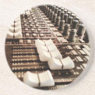 Mixing Board (Photography) Coaster