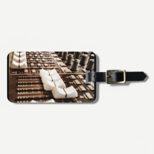 Mixing Board (Photography) Luggage Tag