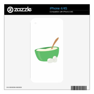 Mixing Bowl Decal For The iPhone 4S