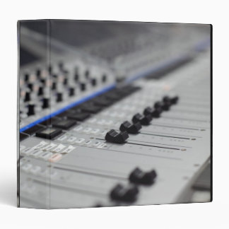 Mixing Desk 3 Ring Binder