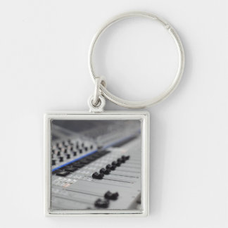 Mixing Desk Keychain