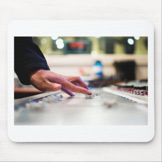 Mixing Desk Mixer Slide Control Slider Disc Jockey Mouse Pad