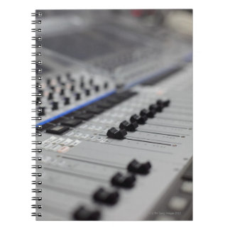 Mixing Desk Notebook