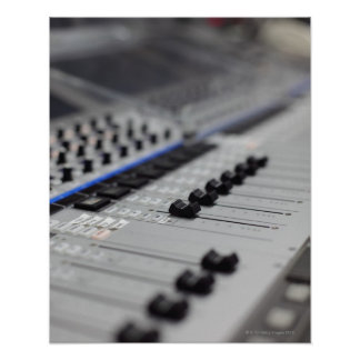 Mixing Desk Posters