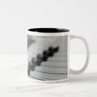 Mixing Desk Two-Tone Coffee Mug