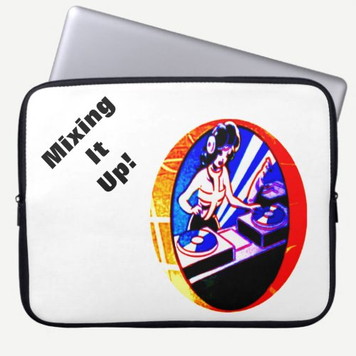 Mixing It Up! Laptop Sleeve