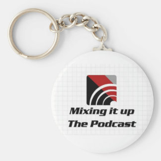 Mixing it up the Podcast Keychain