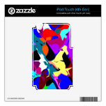 Mixing Paint Drops Decal For iPod Touch 4G