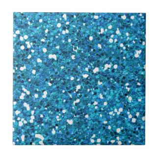 MIXMATCH ROYAL BLUE WHITE GLITTER BACKGROUND TEMPL CERAMIC TILE